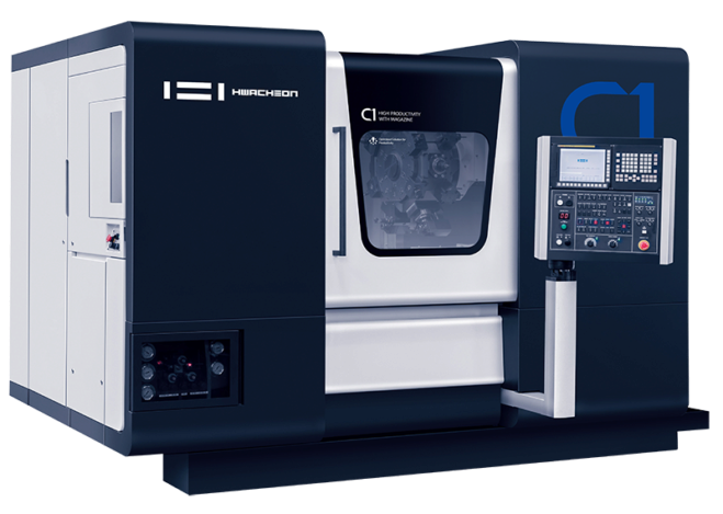 Gamme C1/C2 — Hwacheon - C1 - tour de production